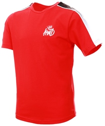 Kings Will Dream Red / Black / White Junior Lineside T-Shirt
