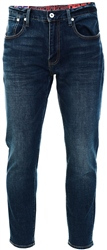 Superdry Byrom Dark Blue Conor Taper Jeans