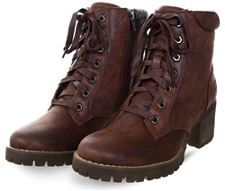 Bull Boxer Tan Lace Up Boot