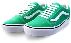 Vans Fern Green Comfycush Old Skool Shoes
