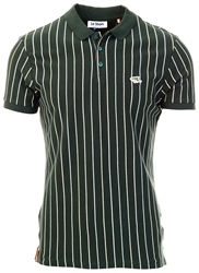 Le Shark Pine Grove Norwood Pinstripe Cotton Pique Polo Shirt