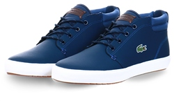 Lacoste Mblue Ampthill Terra Leather Chukkas