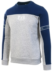 Pre London Navy / Grey Eclipse Crew Sweat