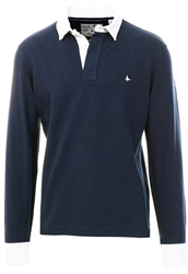 Jack Wills Navy Rugby Shirt