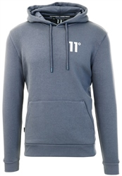 11degrees Twister Grey Core Pullover Hoodie