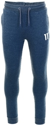 11degrees Navy Marl Core Joggers Skinny Fit