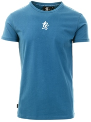 Gym King Teal Gk Origin Fitted T-Shirt