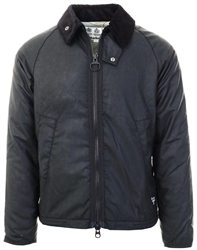 Barbour Beacon Black Winter Munro Waxed Cotton Jacket