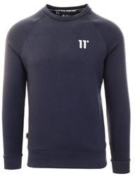 11degrees Navy Core Sweatshirt