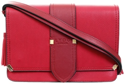 Gessy Wine Red Lydc Shoulder Bag
