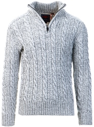 Superdry Concrete Twist Jacob Henley Jumper