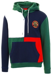 Jack Wills Dark Green Huntstaw Cube Hoodie