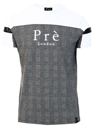 Pre London White / Black Houndstooth Eclipse T-Shirt