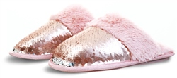 Pia Rossini Rose Gold Kasha Slipper