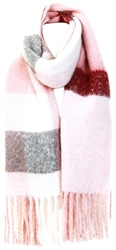 Pia Rossini Blush Pink Connolly Scarf