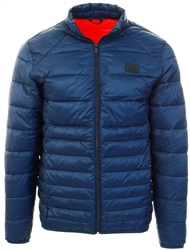 Jack & Jones Blue / Navy Blazer Warm Puffer Jacket