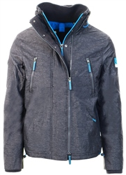 Superdry Charcoal/Dark Grey Polar Sd-Windattacker Jacket