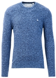 Jack Wills Sky Blue Rye Crew Neck Jumper