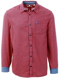 Jack Wills Red Newick Check Shirt
