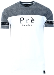 Pre London White Prince Of Wales Eclipse T-Shirt