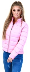Jack Wills Pink Lorna Padded Jacket