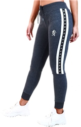Gym King Charcoal Marl Slouch Tracksuit Bottoms