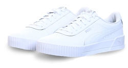 White Carina P Trainers by Puma