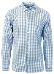 Tommy Jeans Light Blue Textured Check Shirt