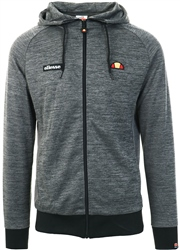 Ellesse Black Melzo Full Zip Hoody