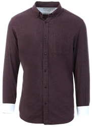 Jack & Jones Port Royale Melange Button-Down Shirt