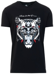 Kings Will Dream Black Demon Velour T-Shirt