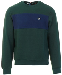 Le Shark Pine Grove Norman Colour Block Panel Sweatshirt