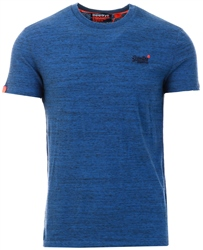 Superdry Desert Blue Grit Orange Label Vintage Embroidery T-Shirt