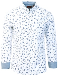 Superdry Optic Paisley Premium Shoreditch Short Sleeve Shirt