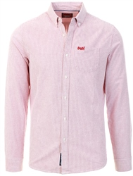 Superdry Red Stripe Classic University Shirt