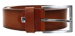 Alex & Turner Brown Leather Belt