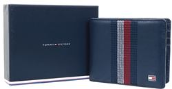 Tommy Jeans Navy Small Stripe Card Wallet