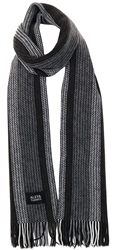 Alex & Turner Grey Knitted Scarf