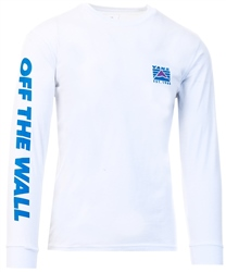 Vans White Hi-Point Long Sleeve T-Shirt