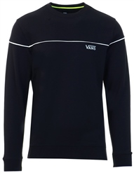 Vans Black Reflective Crew Sweater