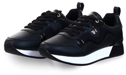 Tommy Jeans Black City Trainers