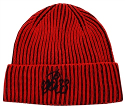 Bee Inspired Red Dual Beanie