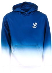Blue Overhead Hoodie by Illusive London