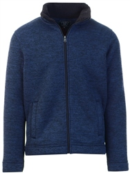 Kensington Navy Zip Fleece Jacket