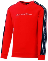 Kings Will Dream Red / Black / White Rosley Sweatshirt