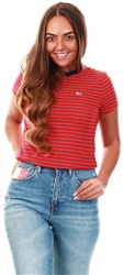 Tommy Jeans Racing Red Stripe Tee