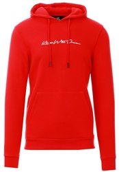 Kings Will Dream Red Morfin Overhead Hooded Top