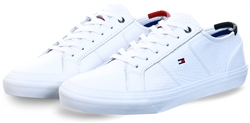 Tommy Jeans White Th Core Signature Leather Trainers