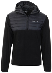 Nicce Black Mens Tactical Fleece
