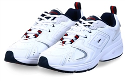 Hilfiger Denim White Heritage Retro Trainers
